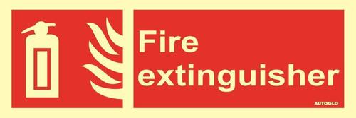 Red Fire Safety Signage