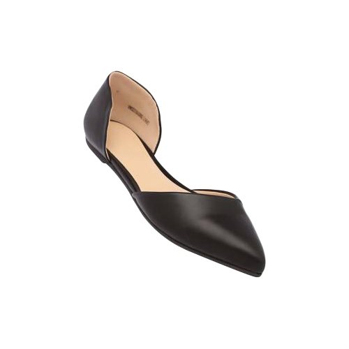 Ladies Black Ballerina Shoes