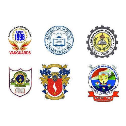 School Printed Badges