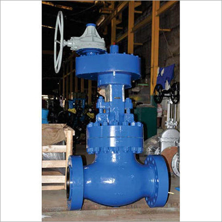 pressure steel globe valve