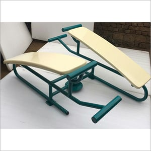 Double Abdominal Bench