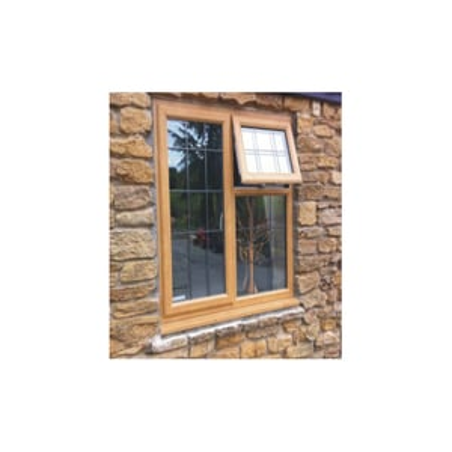Wooden UPVC Sliding Window