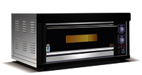 1 Deck 2 tray Electric oven