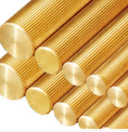 Brass Solid Knurling Rods