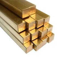 Brass Solid Square Rod