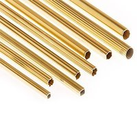 Brass Knurling Hollow Pipe