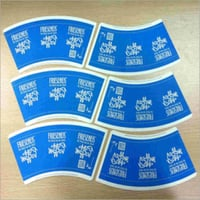 PE Coated Cup Paper Fan With Custom