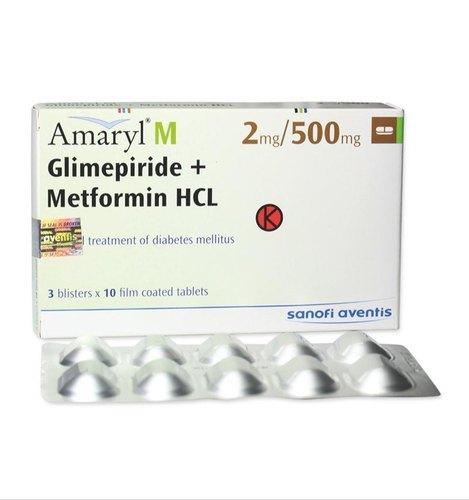 Amaryl M, Glycomet-GP, Glimy-M