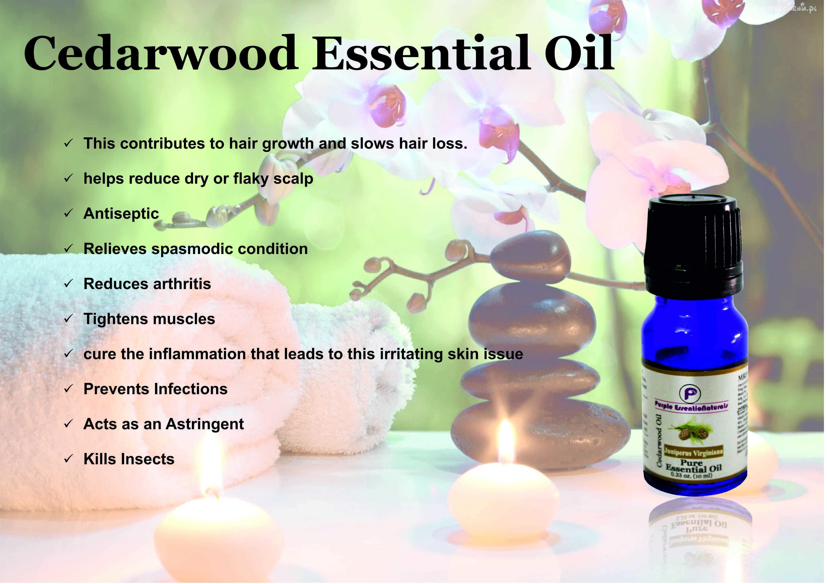 Cedar wood Essential Oil