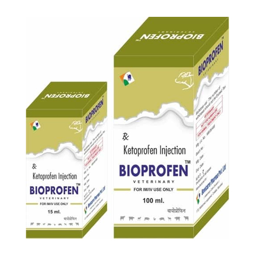 Ketoprofen Injection For Veterinary Use Only