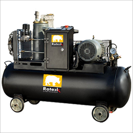 Tank Mounted Compressor Without Cabinet