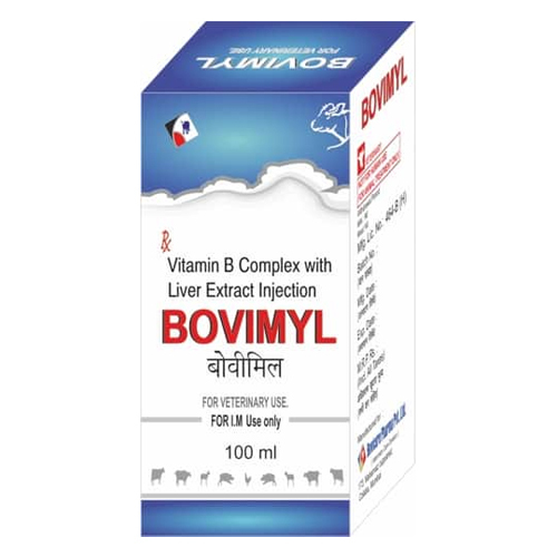 Vitamin B Complex with Liver Extract Injection