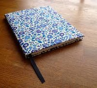 Handwoven Cotton Fabric Diary