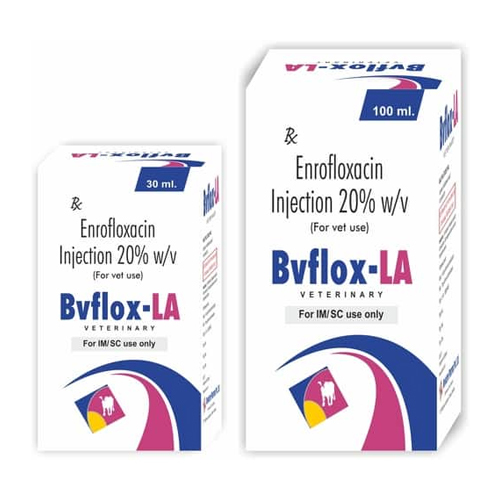 Enrofloxacin Injection 20% For Veterinary Use Only