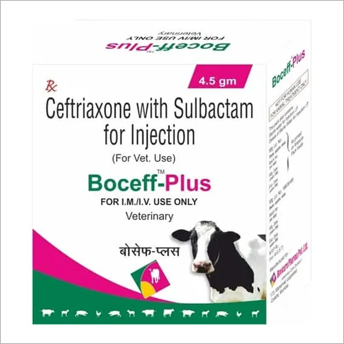 Ceftriaxone Sulbactam Injection (For Veterinary Use Only)