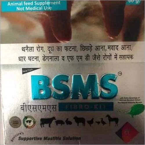 Powder to treat mestitis in animal.