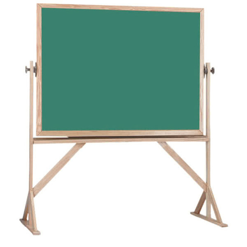 Wooden Frame Green Chalkboard With Stand