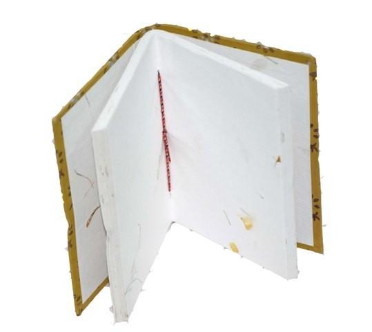 Handmade Paper Diary Block Printed