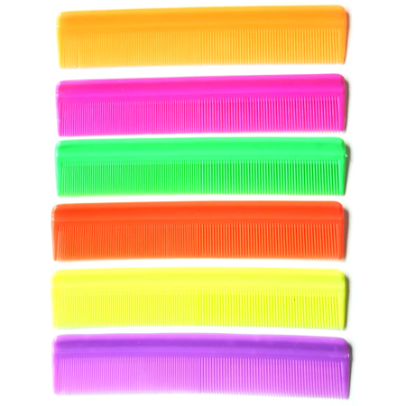 Plain Plastic Hair Comb