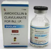 Amoxicillin and Clavulanate Injection