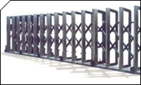 Motorised Retractable Gates