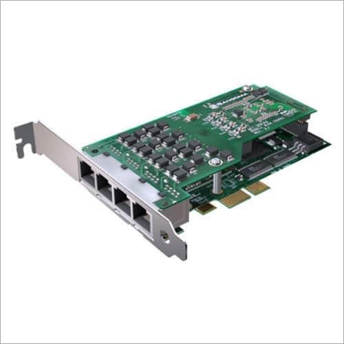 Sangoma 4 Port PRI Card With Hardware Echo Cancellation