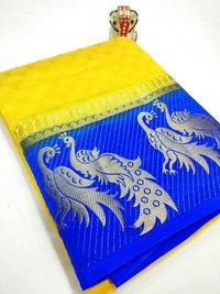 Fancy Designer Kanjivaram Silk Saree