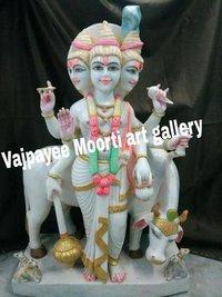 Marble Dattatreya Moorti