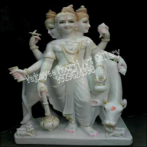 Marble Duttatreya Murti