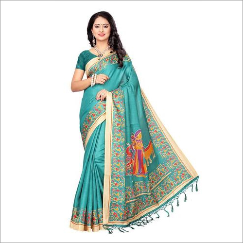Silk Saree with Fancy Designs