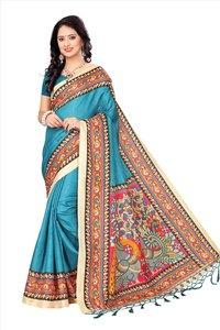 Silk Saree with Fancy Designs