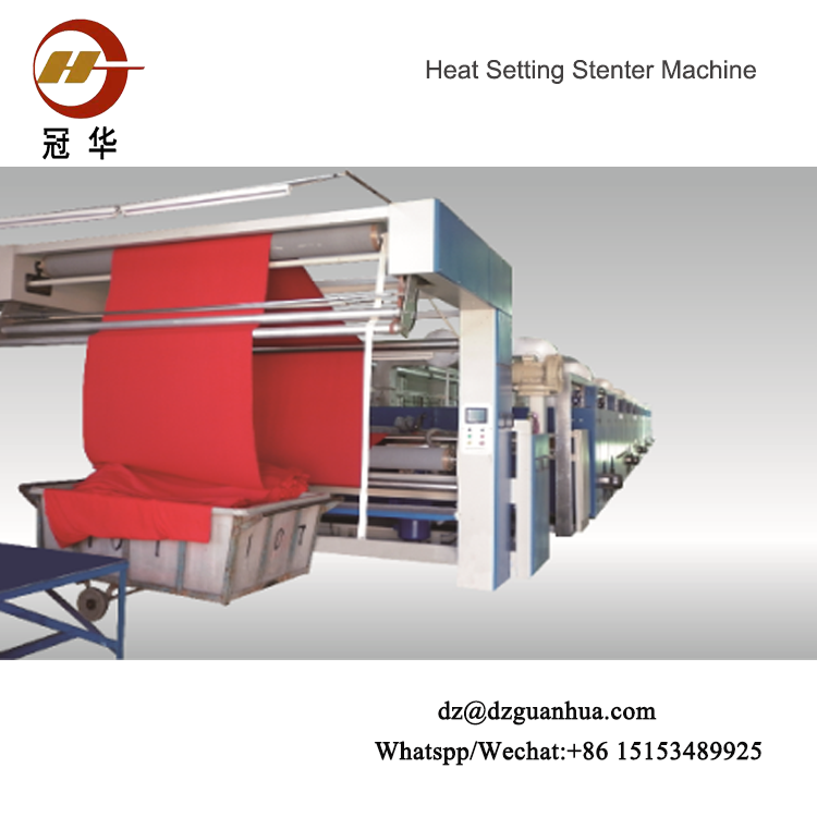 Hot Air Stenter Machine
