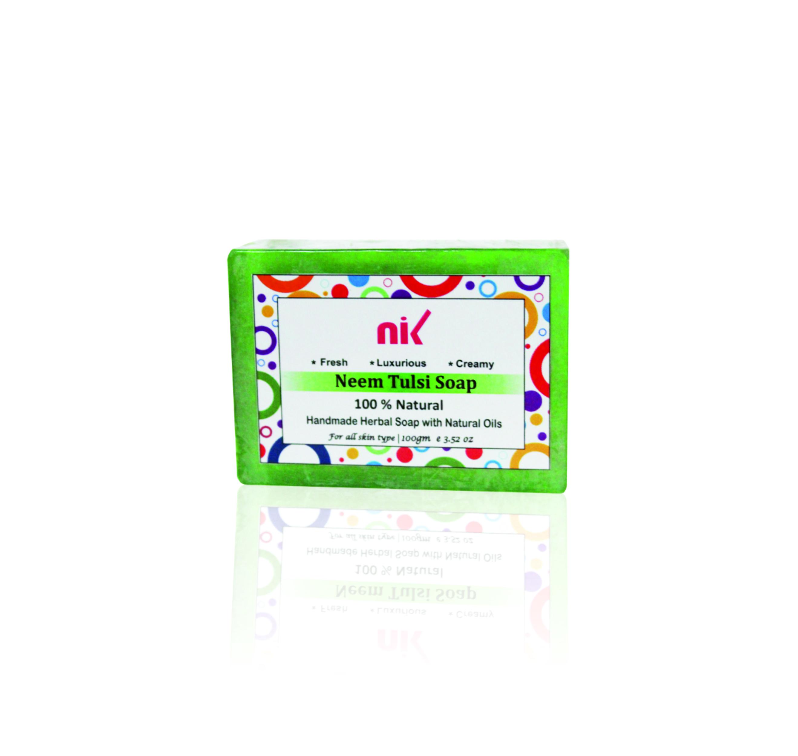 Neem Tulsi Handmade Soap