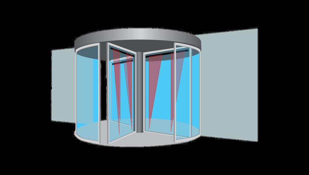 Revolving Sensor Door