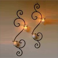 Rustic Decorative Candle Wall Sconces Holders