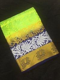 3D Silk Kanjivaram Saree