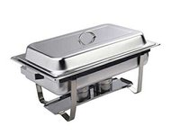 FULL SIZE CHAFING DISH WITH STACKABLE FRAME 9Ltr