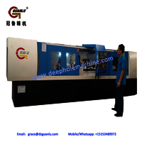 Horizontal deep hole drilling machine