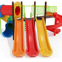 Outdoor Plastic Multi Play Stations