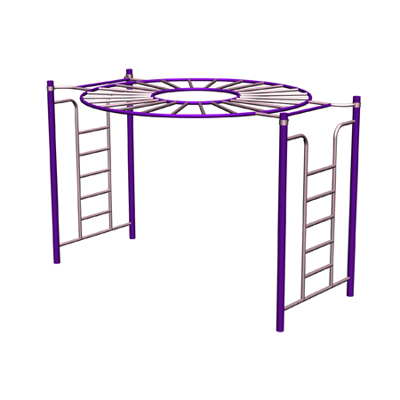 Children Playground O Ring Climb Frame