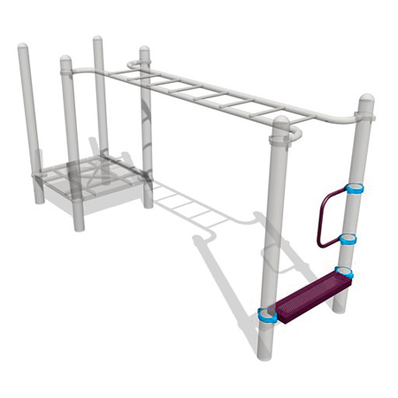 Children Playground Parallel Bar Climb Frame