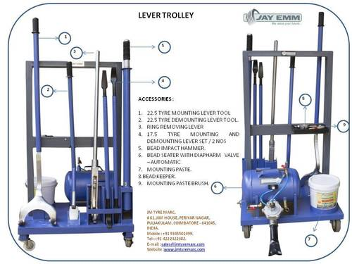 Truck & Buses Tyre Mounting & Demounting Tools