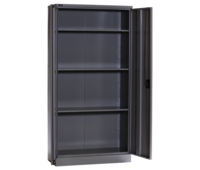 Full Height Office Cupboard With 3 Adjustable Shelves