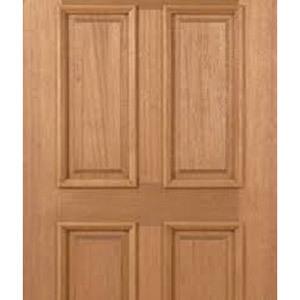 4 Panel Wooden Door