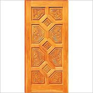 Carved Panel Door