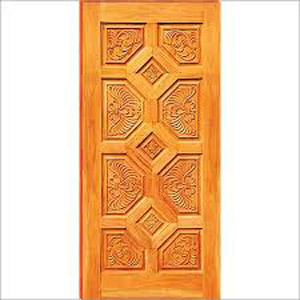Carved Panel Door