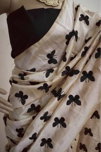 Embroidery Kanjivaram Silk Saree
