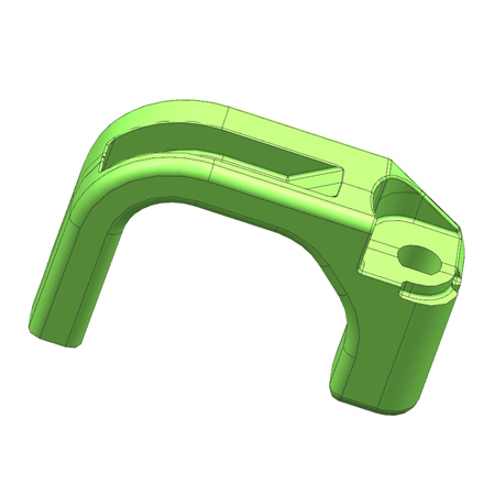 Cabinet Handle Plastic Mould
