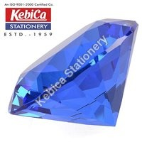 Diamond Shaped Crystal Glass Paper Weight