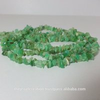 Natural Chrysoprase Rough Uncut Chips Beads Strands